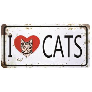 LMAPC-445 LITOCART APLIQUE MADEIRA PLAQUINHA CATS