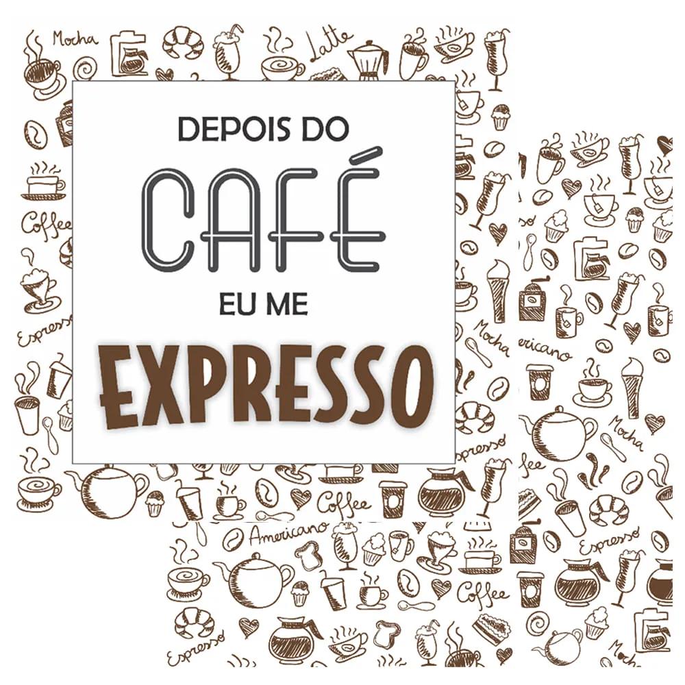 OPA CARD 15X15 CAFE