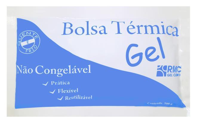 CX C/30 BOLSA TÉRMICA 500GR RMC NÃO CONGELÁVEL C/ CAIXA EXPOSITORA
