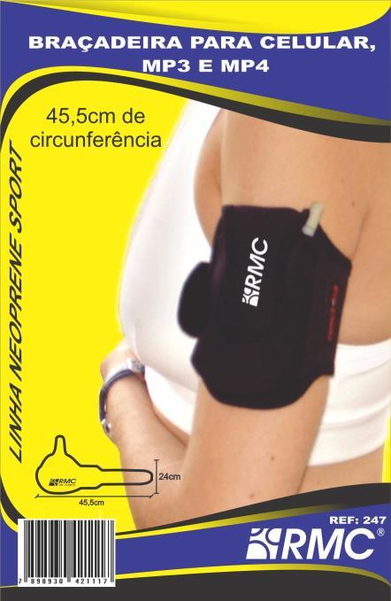 CX C/3 BRAÇADEIRA PARA CELULAR, MP3 E MP4 )