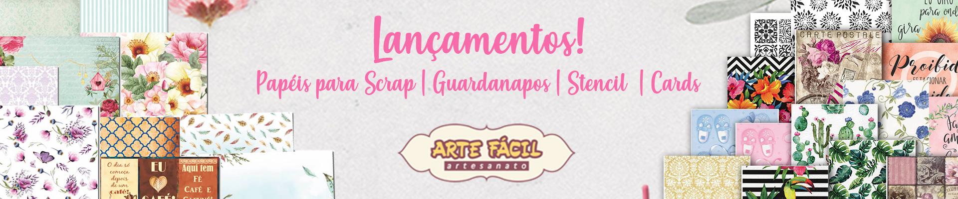 BANNER LANÇAMENTOS ARTE FÁCIL
