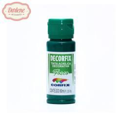 DECORFIX TINTA ACRILICA FOSCA 337 VERDE BANDEIRA 60ML