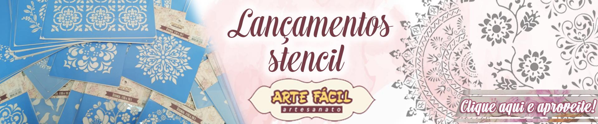 BANNER STENCIL ARTE FACIL