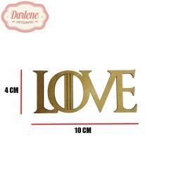 MDF GAME OF THRONES PALAVRA LOVE 9,9X4CM